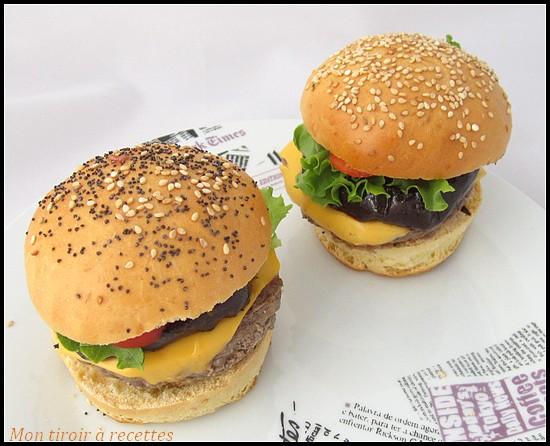 burgers aux aubergines