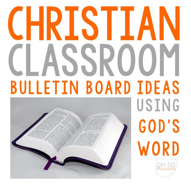 Tami Teaches Bulletin Board Ideas For The Christian Classroom