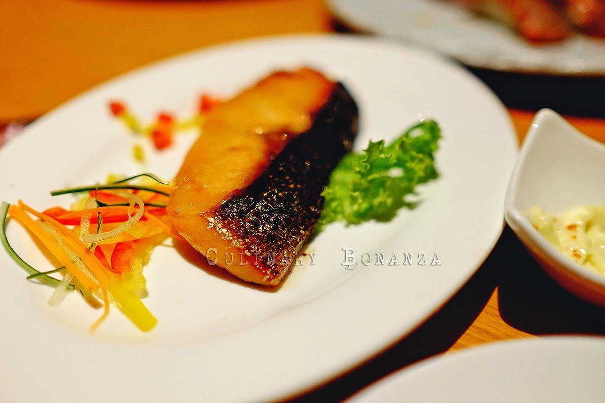 Salmon Misoyaki Set