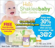 SHAKLEE BABY BELI 2 PERECUMA 1