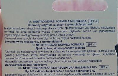 neutrogena ochronny sztyft do ust