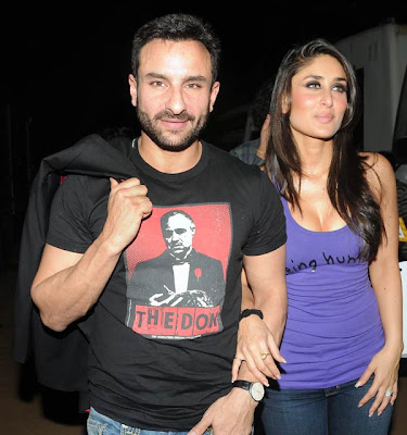 Kareena kapoor saif ali khan images in agent vinod couple nature