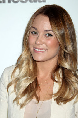 Lauren Conrad Long Wavy Cut Lookbook