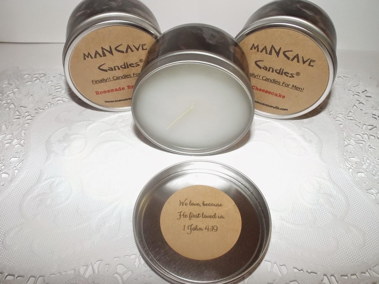 Mancave Candles Christiam