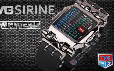 LED Watch Sirine