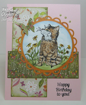 "Our Daily Bread designs ""Cat Sympathy"", ""Mini Tags 3"" Designer Angie Crockett"