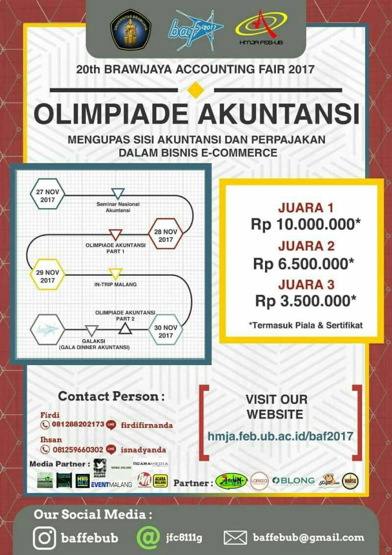 Preliminary Brawijaya Accounting Fair 2017