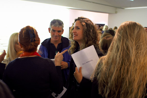 Foyer crowd, Henson show 2012  Roslyn Oxley 9.