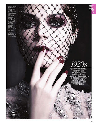 1920s vogue china kinga rajzak retro looks in the modern world