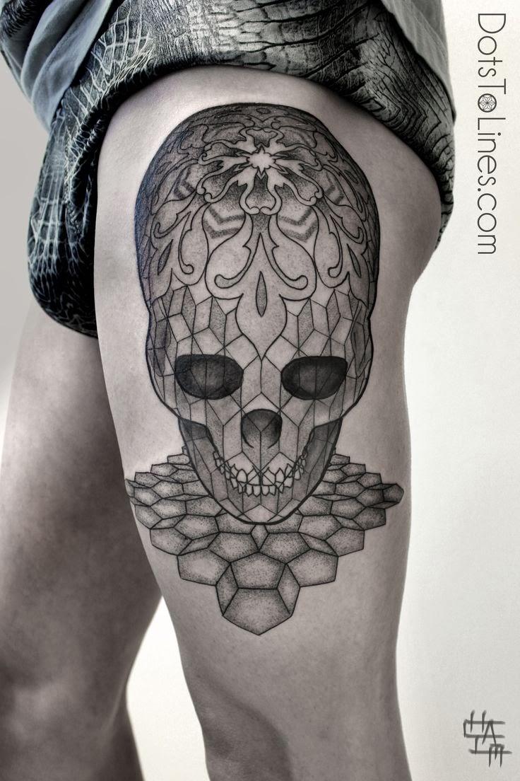 fabdiva skull tattoos candy skull tattoos skull. Black Bedroom Furniture Sets. Home Design Ideas