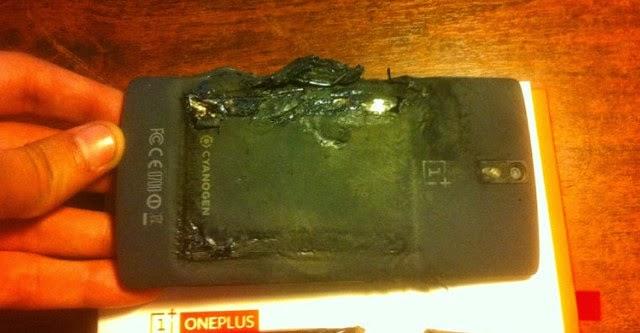 OnePlus One phát nổ