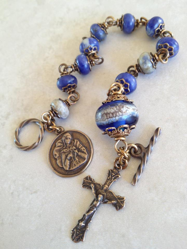 All Beautiful Catholic Beads: Our Lady, Undoer of Knots ...