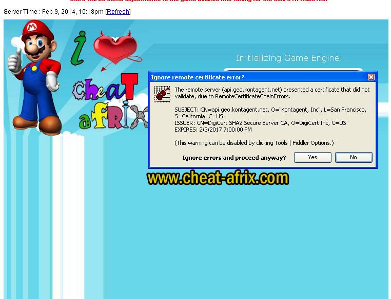 Cheat Ninja Saga 2014 Fiddler TP Token - cheat-afrix: Free Cheat Game ...