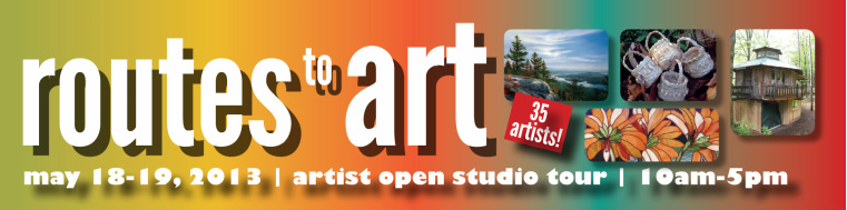 2014 Routes to Art Studio Tour - May 17 and 18, 2014