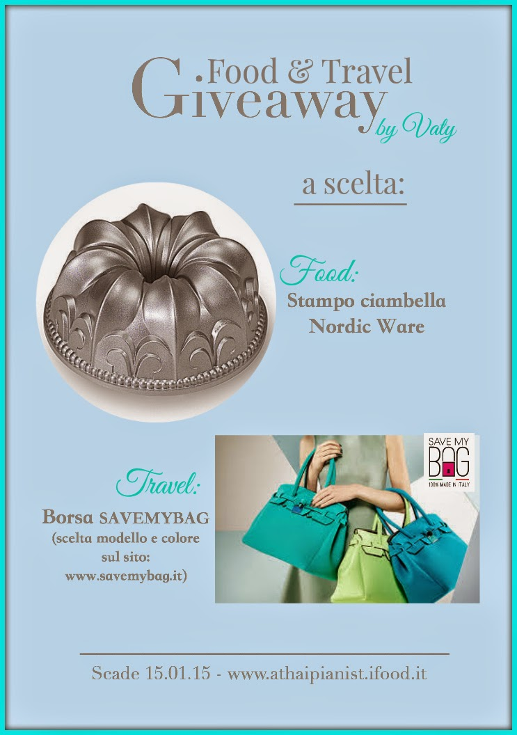 Giveaway di Vaty: Food & Travel