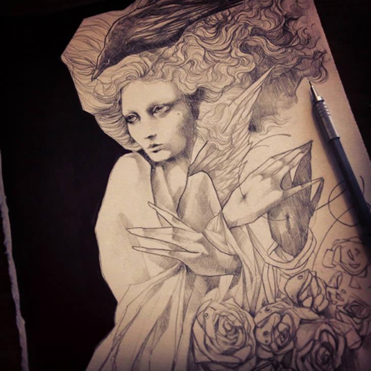 Amazing Drawings: Amazing Sketchbook Drawings