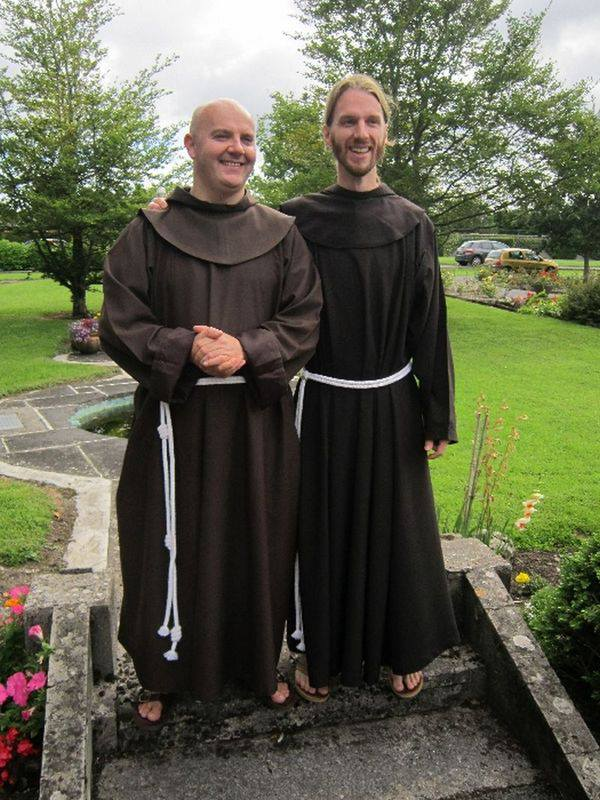 Irish Dominican Vocations Irish Franciscan Friars Make
