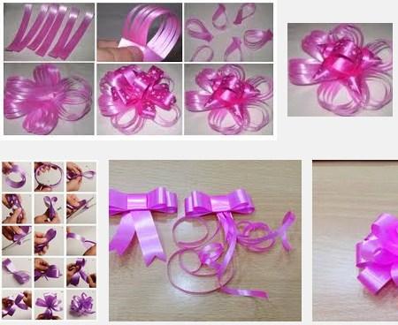 Handicraft Kreatif Teknik Membuat Bunga Dari Pita Jepang Untuk