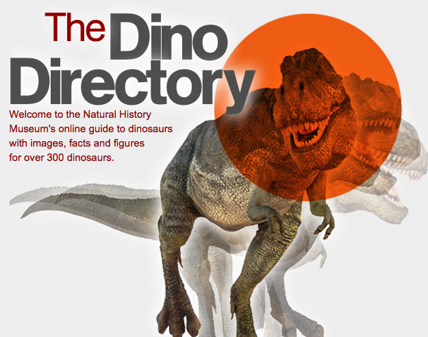 http://www.nhm.ac.uk/nature-online/life/dinosaurs-other-extinct-creatures/dino-directory/index.html