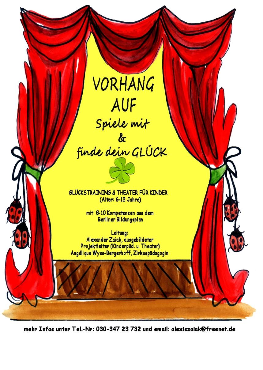 Projekt Glück Glückstraining Theater Für Kinder Theatroastro