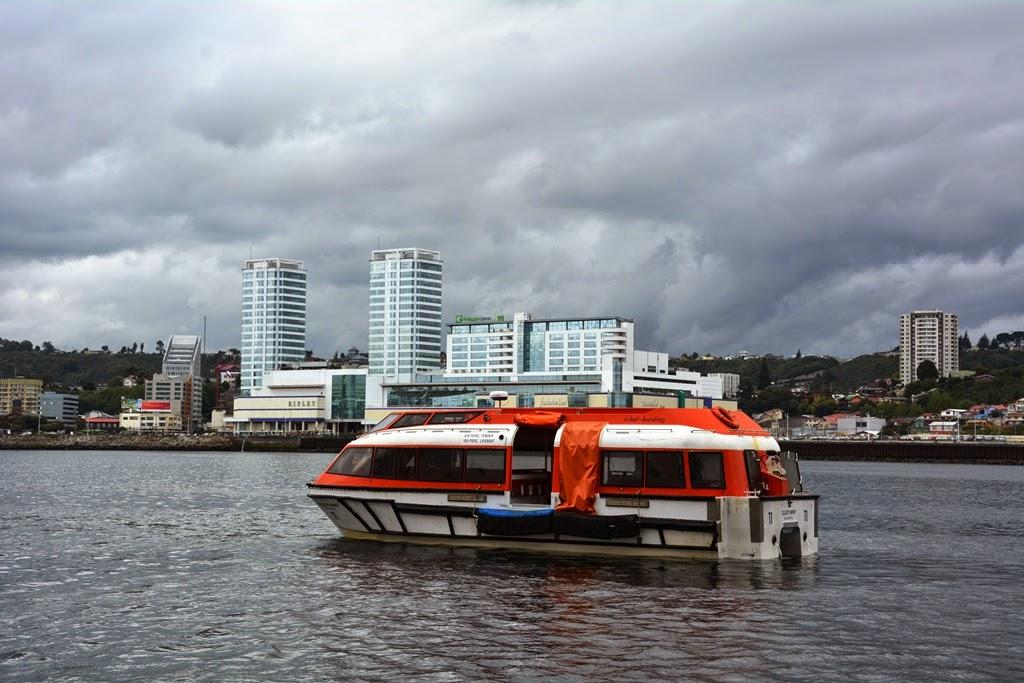 Puerto Montt tender cruise