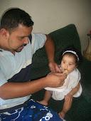 Com papai