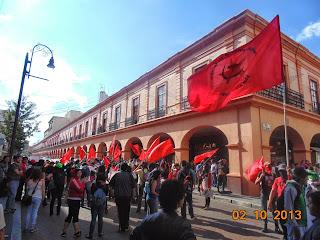 2 de Octubre 2013: De lucha combativa en el Estado de México