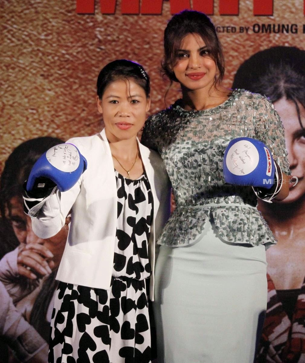 Priyanka Chopra at Audio release of 'Mary Kom'