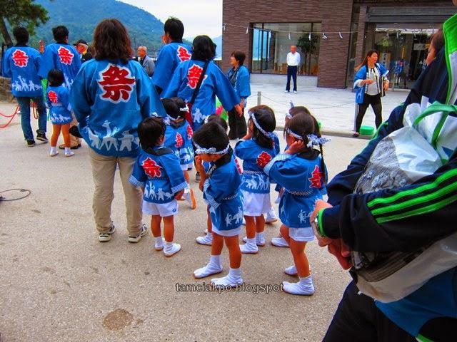 Miyajima children activity
