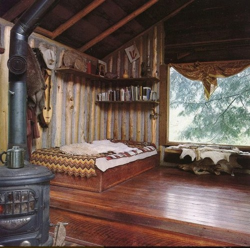 Ideas For Bedrooms Boho Cabin Bedroom