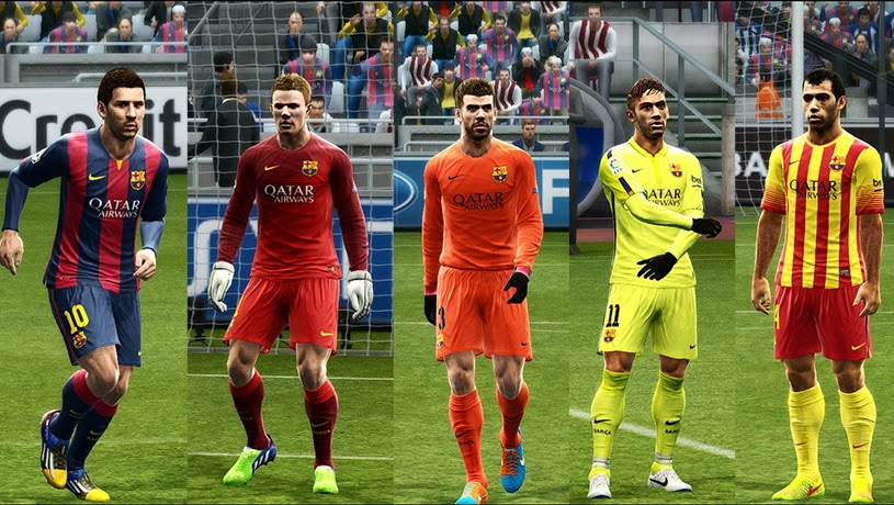PES 2013 Barcelona 14-15 Update GDB by Vulcanzero