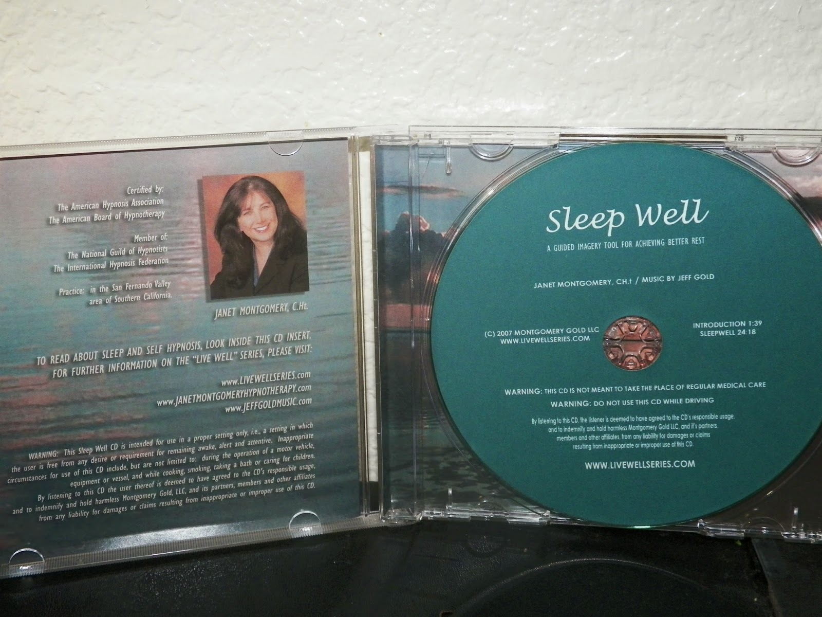 mygreatfinds: Sleep Well CD By Janet Montgomery and Jeff ...