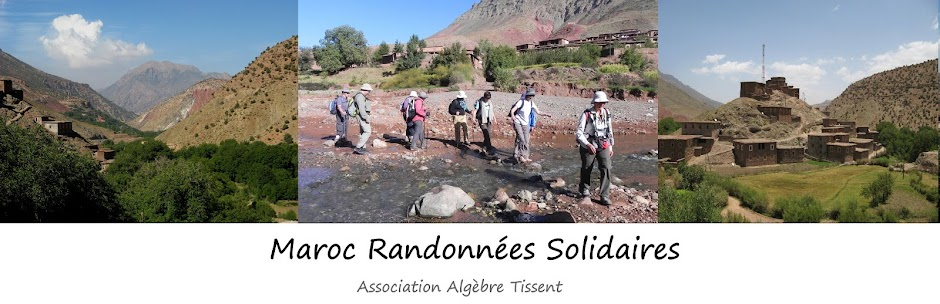 Maroc randonnées solidaires Tissent