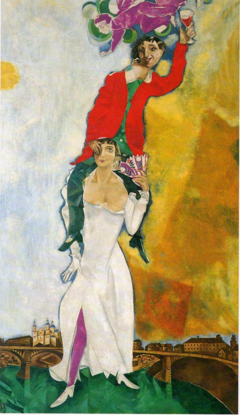 Le r prouv un tableau de chagall for Chagall tableau