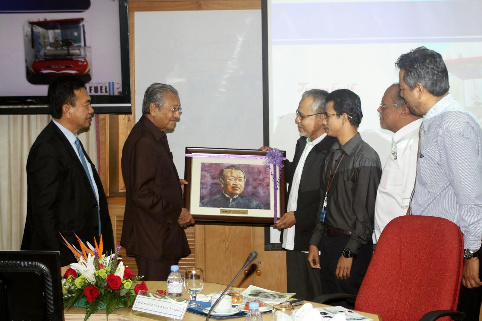 Potret Tun. Dr. Mahathir bin Mohamad