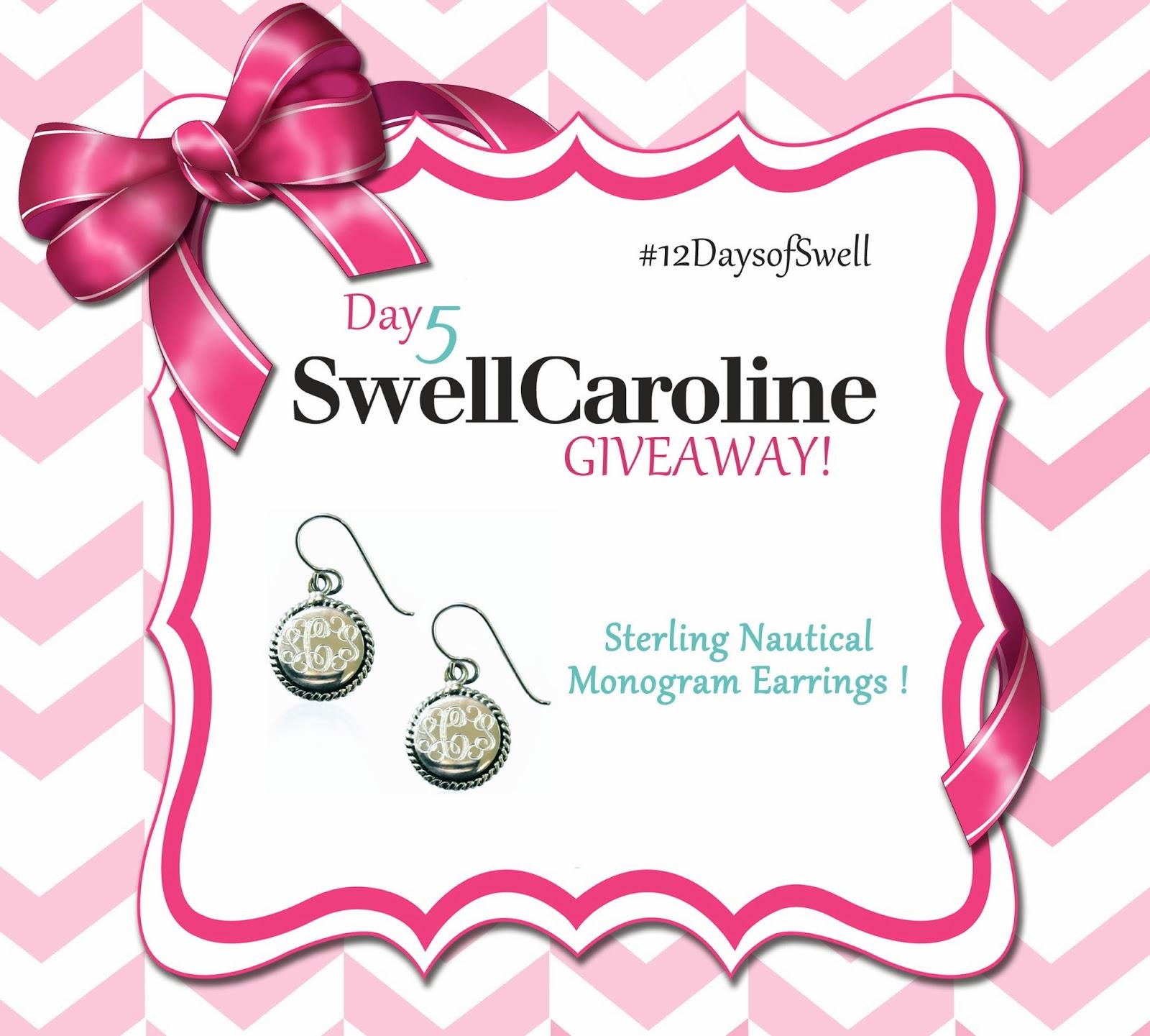 Sterling Nautical Earrings