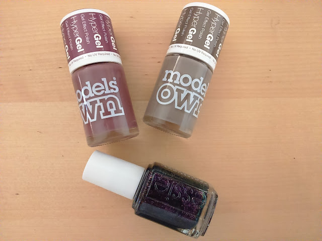 Models Own Twilight HyperGel and Essie Virgin Snow Collection