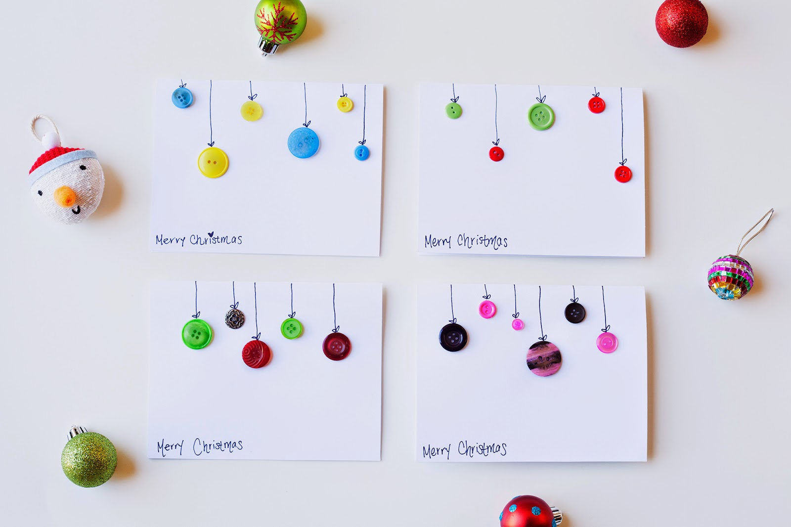 The City Feline: DIY Ornament Christmas Cards