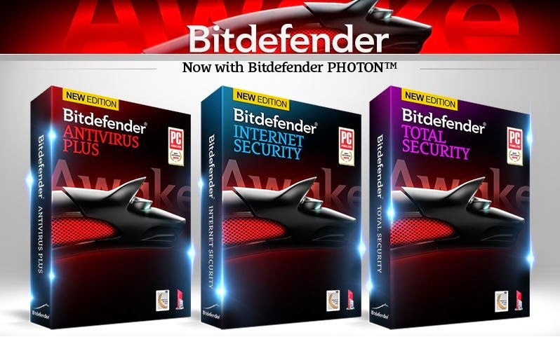 Bitdefender Total Security Antivirus Plus & Internet Security
