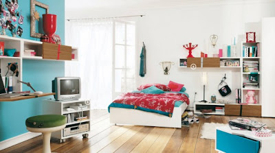 modern teen bedroom design