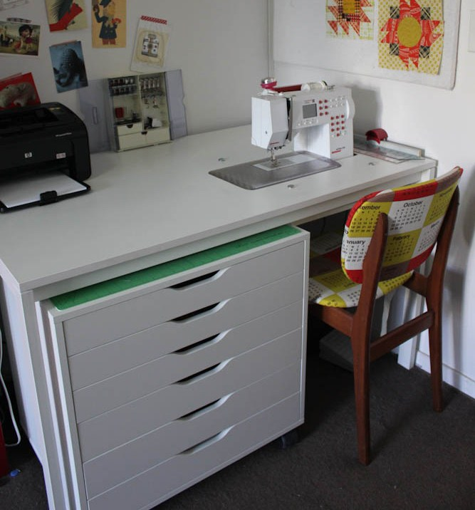 Cheeky Cognoscenti Fabulous DIY Sewing Cabinet Badskirt