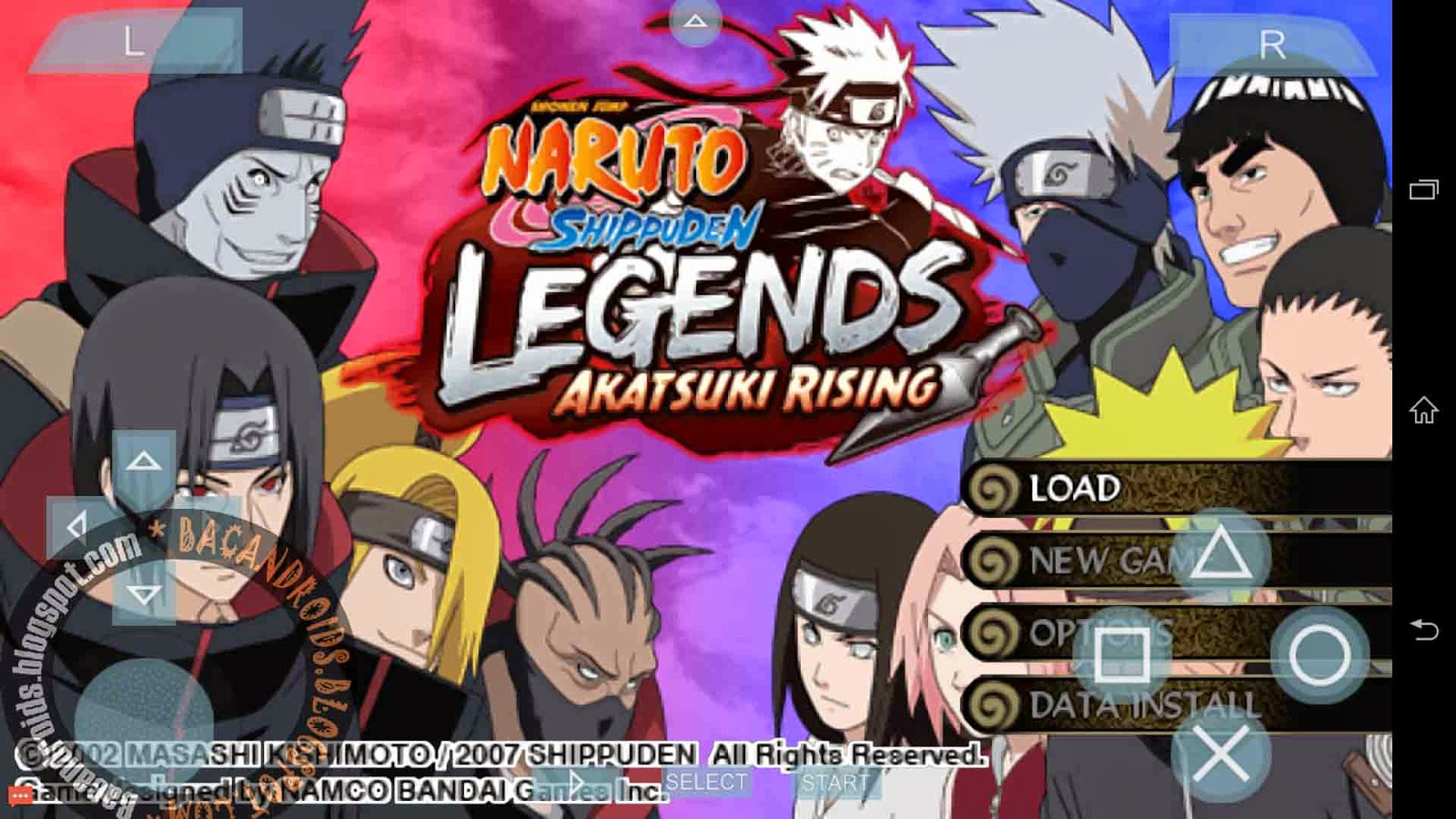 download ROM PSP game Naruto Shippuden CSO/ISO untuk PPSSPP Android