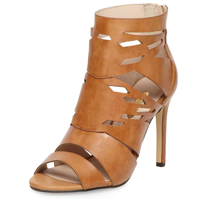 tan cut boots