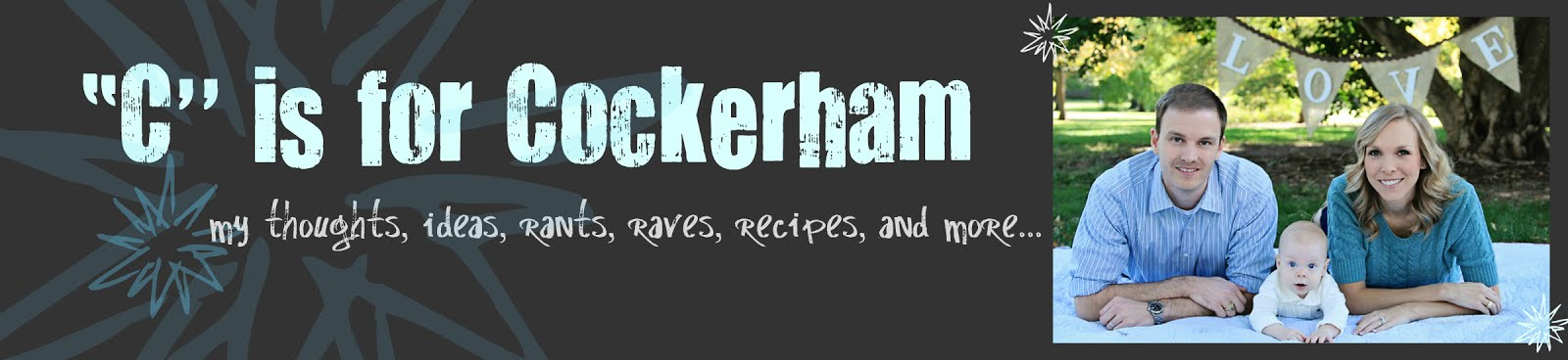 """C"" is for Cockerham"