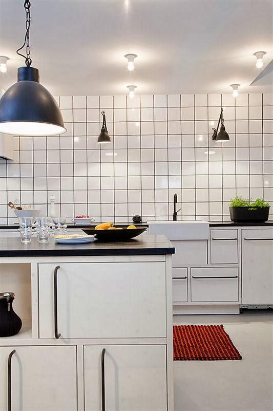 vitt kakel kök fog : Snyggt kök i modern vintagetappning Alla bilder ...