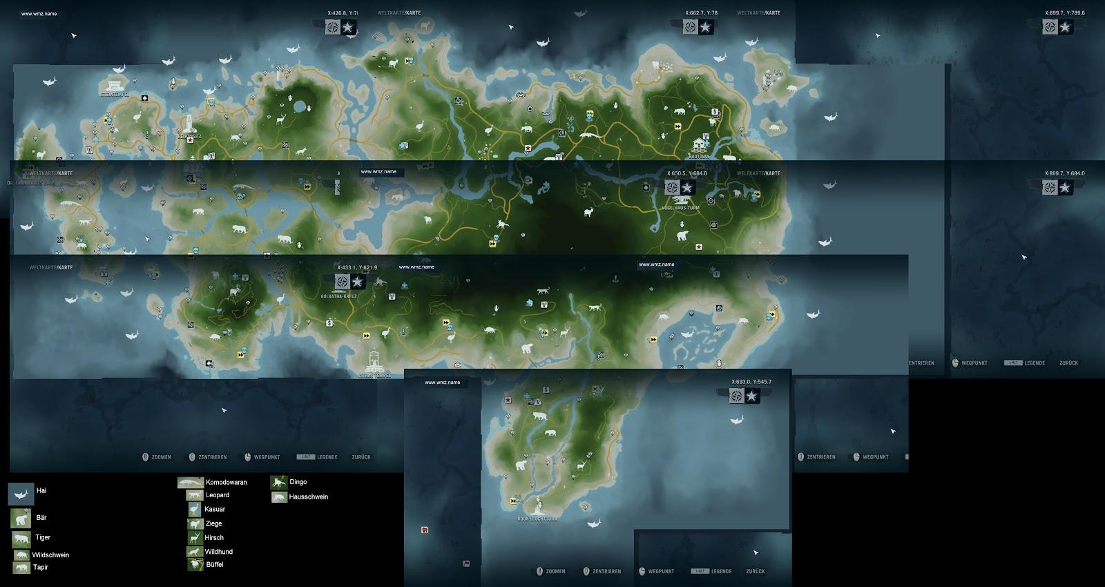В фар край 3 карта не показывает