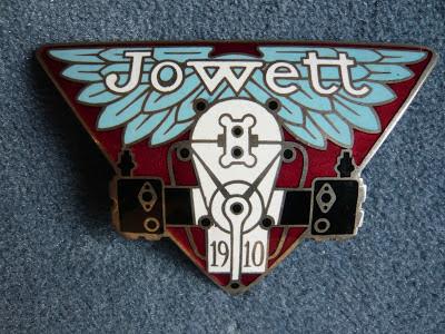 JOWETT Radiator emblem