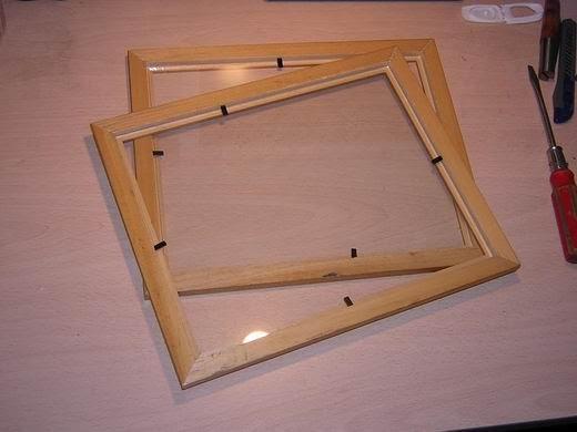 Casas cocinas mueble como enmarcar un cuadro en madera - Enmarcar cuadros en casa ...