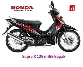 Honda Supra X 125 milik Bapak