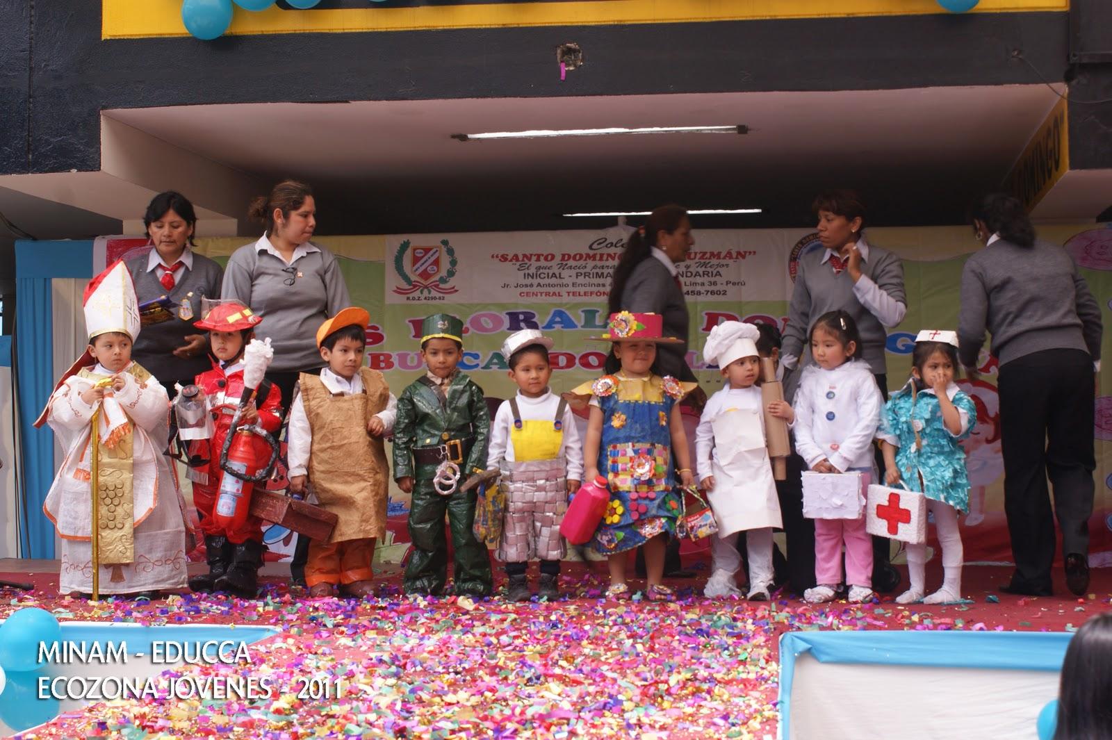 Vestimenta En Reciclaje De Fiestas Patrias